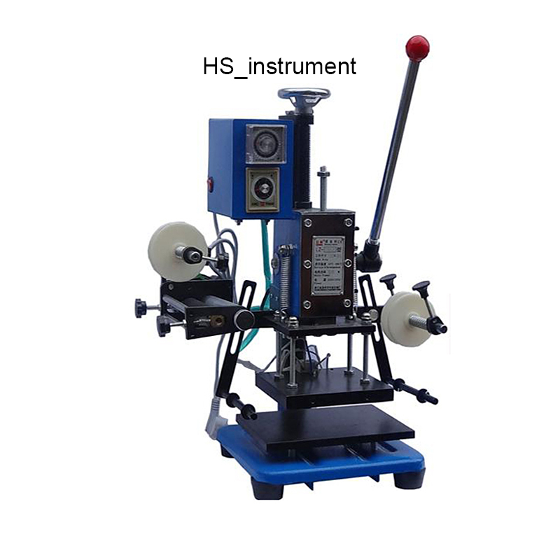 Manual hot stamping machine business card leather plastic paper Creasing,marking press,embossing machine(16x15cm) LZ-170-C horoz торшер horoz aras hl009l 3w 3000k черный 046 002 0003 hrz00000769