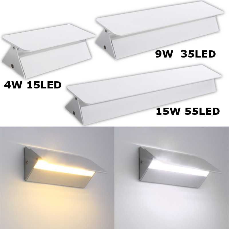 Led Lamps 4/9/15w Smd2835 Rotatable Modern Led Wall Lamp Adjustable Up/down Indoor Bedroom Bedside Lighting Led Lighting Wall Light To Adopt Advanced Technology