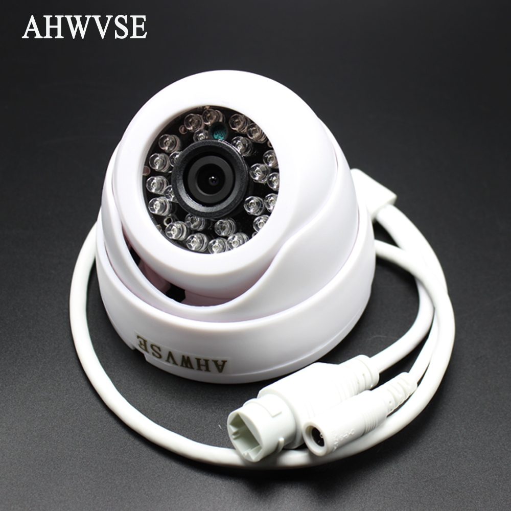 24IR H.264 Full HD 1080P 2Megapixel IP Camera Indoor Dome Security CCTV POE Camera Onvif XMEYE P2P 720p hd ip camera poe onvif 3 6mm lens ir cctv security surveillance camera 1 0mp network dome cameras xmeye app xmeye view