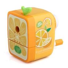 Доступные ручного orange рукоятка точилка рабочего школа канцелярские дети
