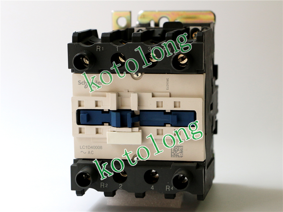 все цены на AC Contactor LC1D40008 LC1D40008P7 LC1-D40008P7 230V LC1D40008Q7 LC1-D40008Q7 380V LC1D40008U7 LC1-D40008U7 240V онлайн