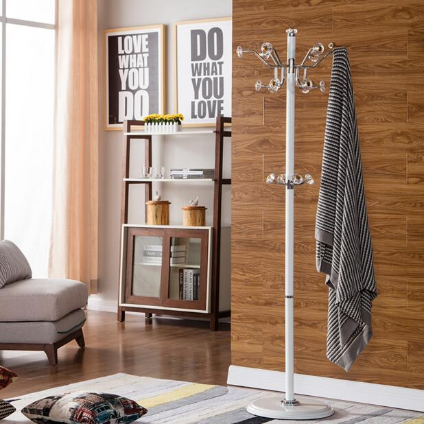 The European style clothes stand on the floor of the clothes stand on the clothes rack revolving creative fashionable simple hom in Storage Holders Racks from Home Garden
