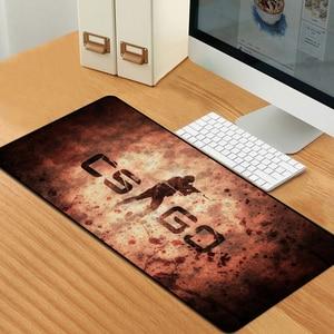 Image 5 - Sovawin 80x30cm XL Lockedge גדול משחקי משטח עכבר מחשב גיימר CS ללכת מקלדת עכבר מחצלת Hyper חית שולחן שטיחי עכבר מחשב