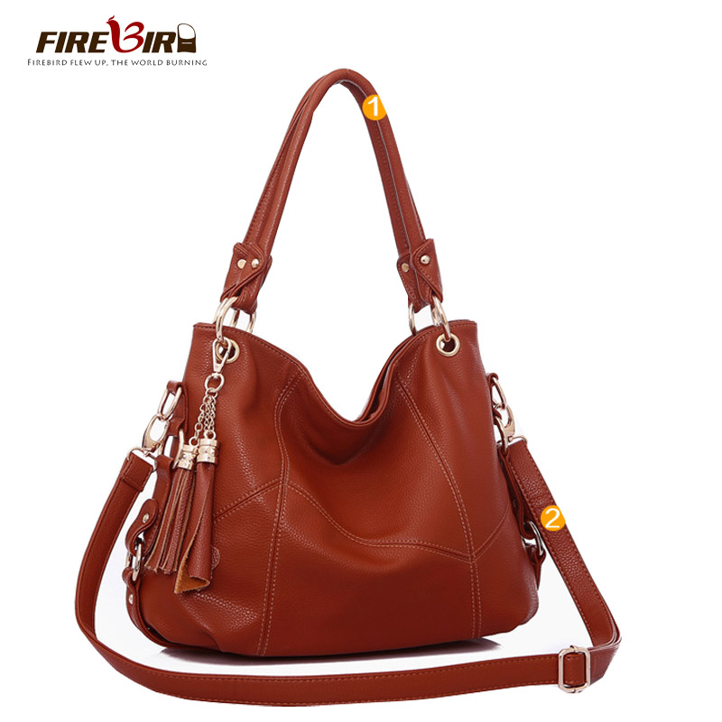 New Lady Handbag Fashion Leather Tassels Brand Waterproof Women Single Shoulder Bag Hot Selling Lady Crossbody Travel Bag FN503 yuanyu new 2017 new hot free shipping crocodile women handbag single shoulder bag thailand crocodile leather bag shell package