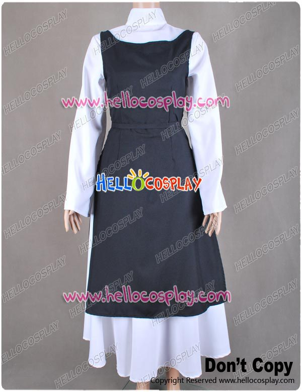 <font><b>Vocaloid</b></font> <font><b>Rin</b></font> Kagamine <font><b>Cosplay</b></font> Costume Monastery Outfit H008 image