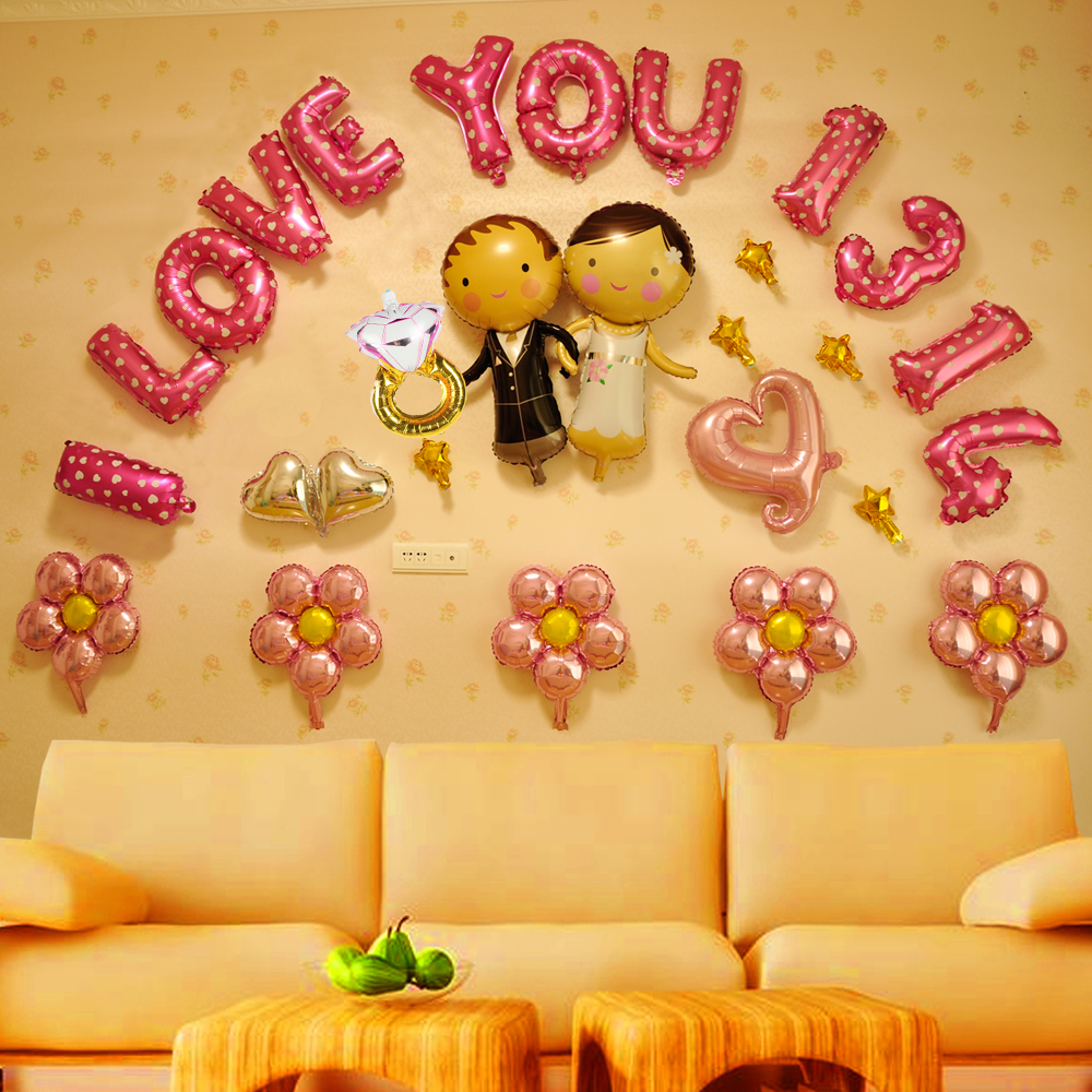 Outstanding Balloon Walls Decorations Images - The Wall Art ...