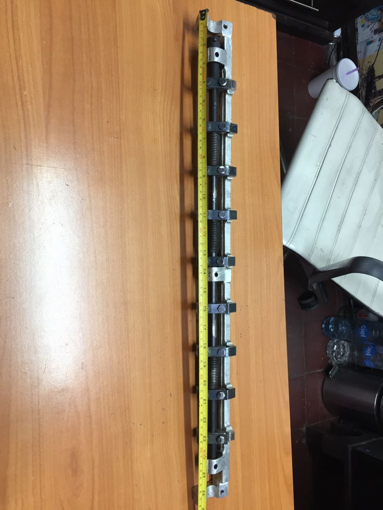 2 Pieces DHL Free Shipping KORD62 gripper bar length 675mm Delivery Gripper Bar Heidelberg Kord 62 Parts 2 pieces dhl free shipping heidelberg power module klm4 00 781 4754 01 m2 144 2111