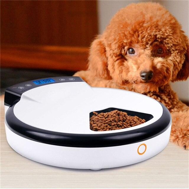 Automatische Hund Katze Bowl Essen Dispenser Digitale Futterautomat ...