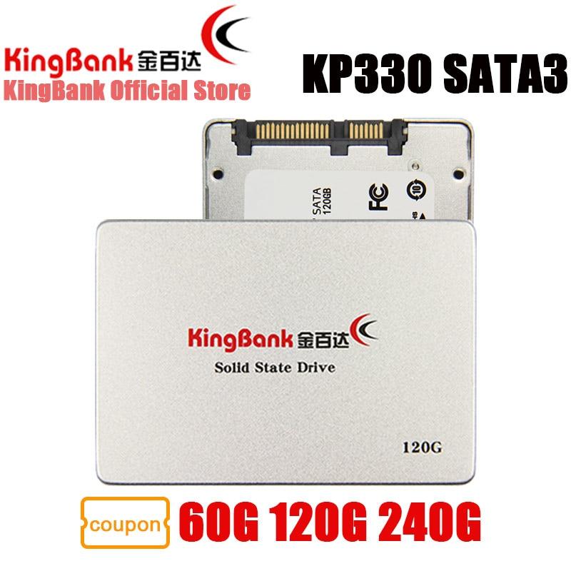 KingBank SSD KP330 SATA3 2.5'' 60GB 120GB 240GB Internal Solid State Drive Hard Drive Disk HD HDD 2.5 inch Laptop 120 GB 240 GB