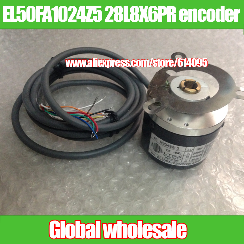 1pcs EL50FA1024Z5 / 28L8X6PR rotary encoder for ELTRA-in Electronics Production Machinery from Electronic Components & Supplies
