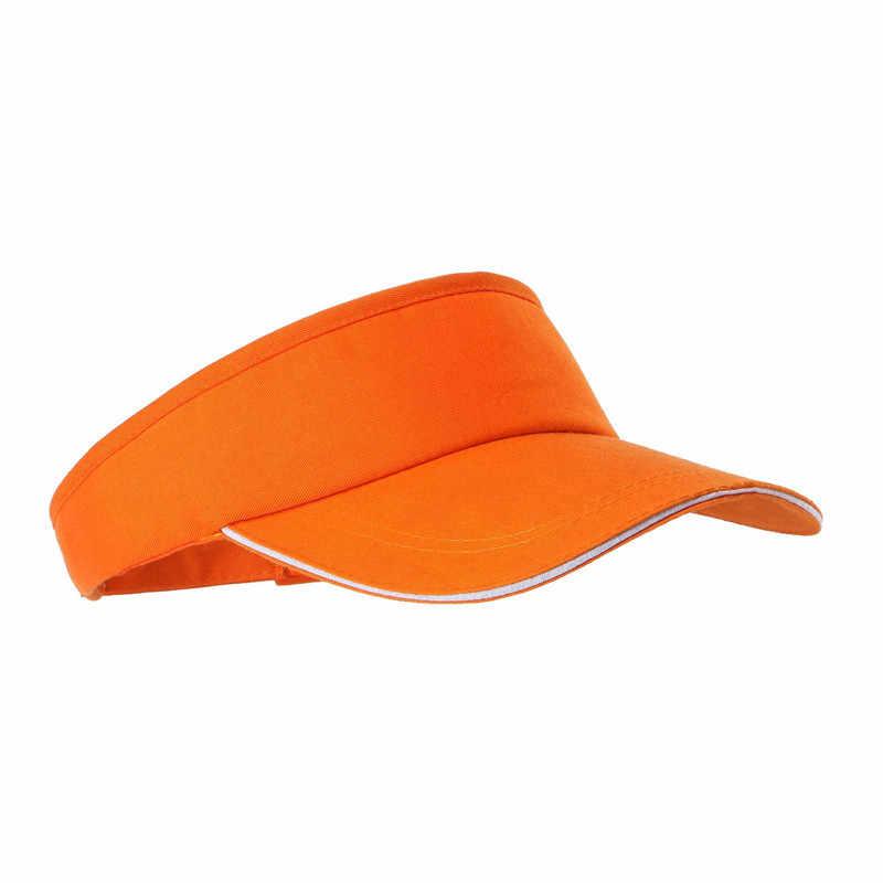 فارغة أفضل قبعة بلون الرجال والنساء قبعة التنس الرياضية لا أفضل قناع التنس قبعة للشاطئ الرياضة في الهواء الطلق