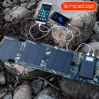 8 W Pannello Solare Banca di energia solare Batteria Esterna Caricatore Portatile Universale Powerbank Per il iphone Per I Telefoni Xiaomi