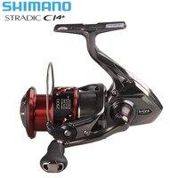Original SHIMANO STRADIC CI4+ FB1000 1000HG 2500HG C3000HG Spinning Fishing Reel HAGANE Gear X Ship Saltwater Carp Fishing Reel