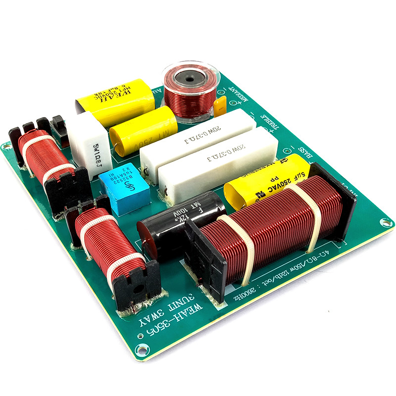 3 way 3 unit Professional Audio Speaker Frequency Divider Amplifier Crossover Filter for KTV Stage Subwoofer Car Speaker Tweeter