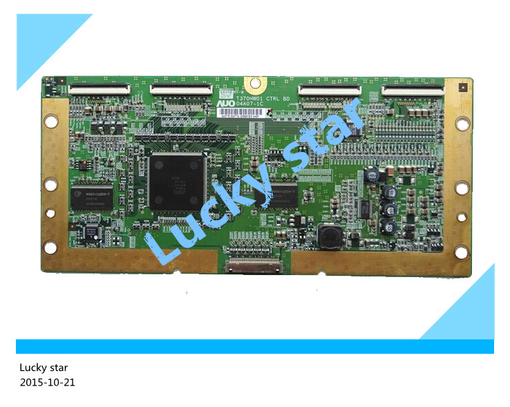 все цены на  98% new good working High-quality original for board T370HW01 CTRL BD 04A07-1C T-con logic board  онлайн