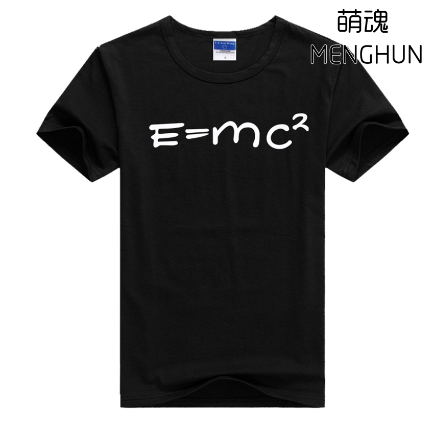 TBBT t shirts Sheldon t shirt E=MC2 The Big Bang Theory Sheldon t shirts teacher t shirt with equation summer costume ac680