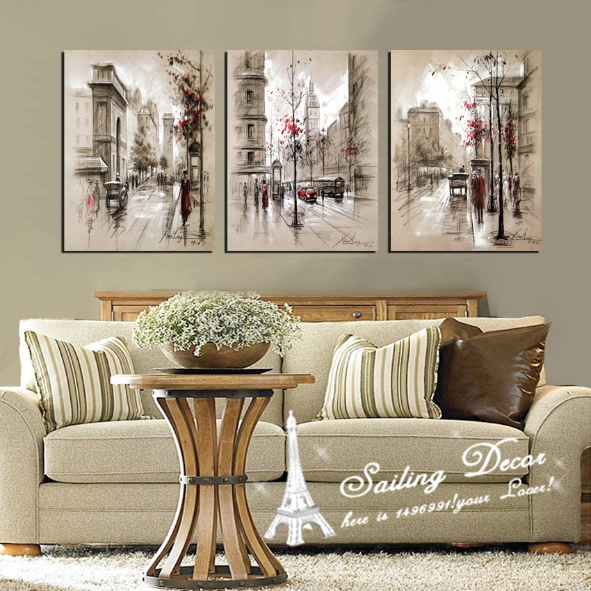 3 Piece Canvas Wall Art Sets online get cheap walking pictures -aliexpress | alibaba group