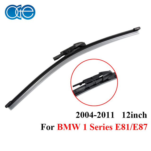 abb152071d04 Windscreen Rear Wiper Blades For BMW 1 Series E81 E87 Window Windshield  1Pcs 2004-2011 12   Car Accessories