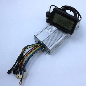 Image 3 - 800W 1000W 35Amax 48V fırçasız DC Motor kontrolörü Ebike denetleyici + KT LCD3 ekran bir Set