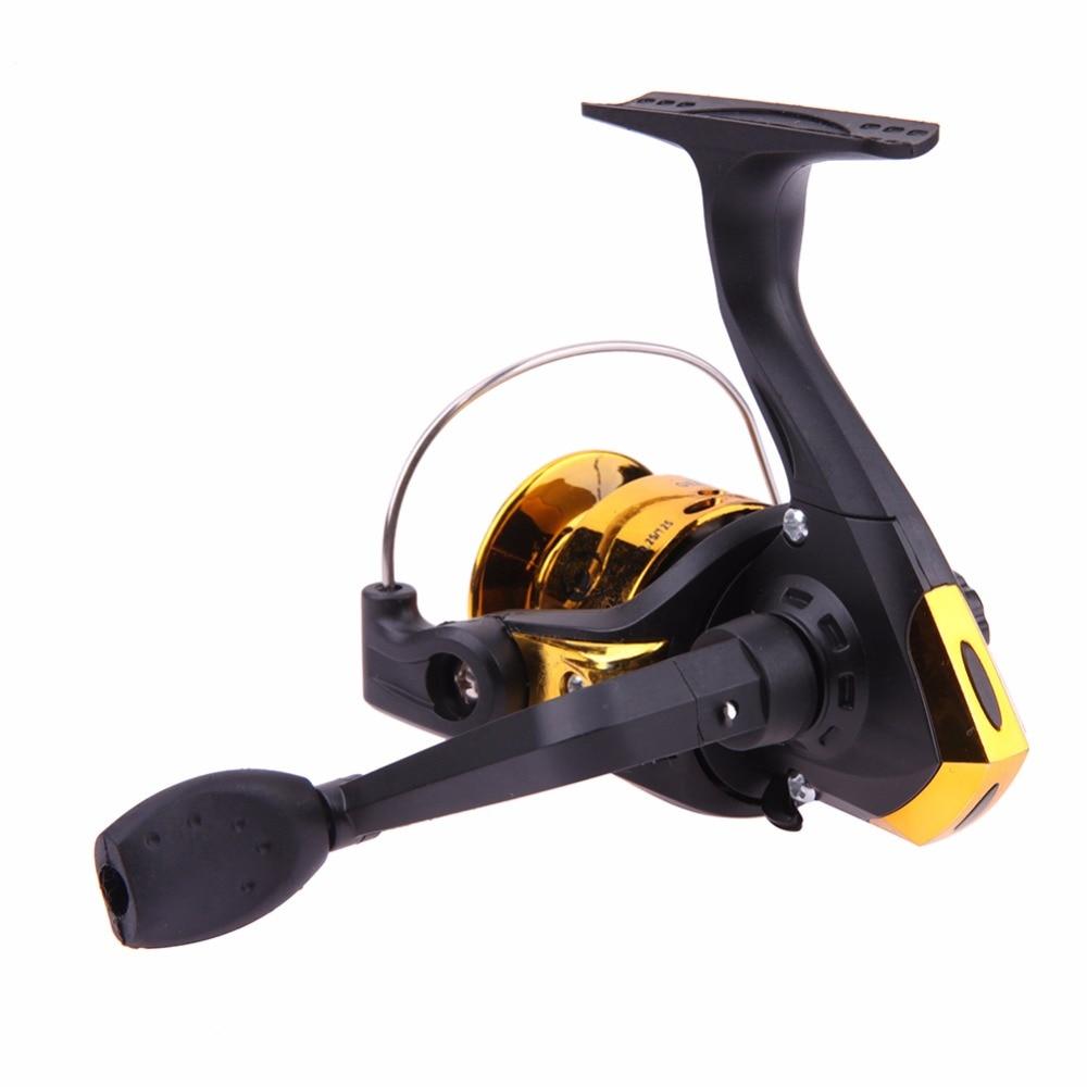 Mini Spinning Fiskehjul Aluminium Kroppfiskehjul Høyhastighets - Fiske - Bilde 3