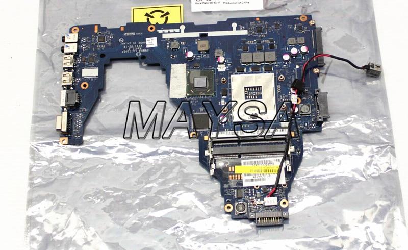 K000124370 LA-7202P Laptop Motherboard Fit For Toshiba Satellite C660 Main Board HM65 DDR3 GMA HD3000 t000025060 main board for toshiba satellite dx730 dx735 laptop motherboard system board hm65 hd3000 ddr3
