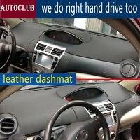 For Toyota Belta VIOS YARIS 2008 2013 Leather Dashmat Dashboard Cover Pad Dash Mat SunShade Carpet Cover 2009 2010 2011 2012