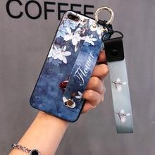 Wrist Strap AppleXsmax Mobile Phone Shell Iphone7plus Plum Protection Sleeve XR Female Models Lanyard 8p Bracket 6