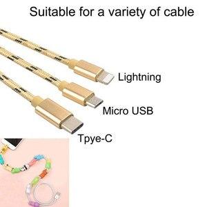Image 3 - Nuevo enrollador de Cable lindo Animal Bite Cable Protector para iPhone Cable Chompers enrollador organizador Panda Bites muñeca soporte modelo