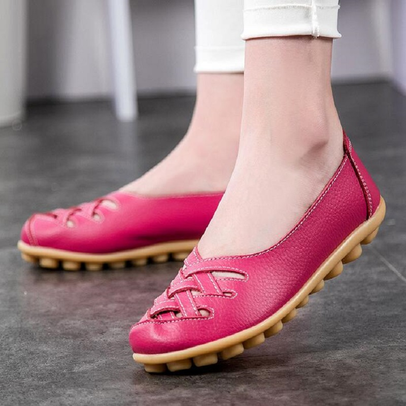 summer new Genuine leather Oxford shoes for women flats 2017 women comfortable shoes moccasins loafers ladies flat shoes size 43 flat shoes women pu leather women s loafers 2016 spring summer new ladies shoes flats womens mocassin plus size jan6