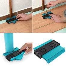 5 Inch Plastic Profile Print Gauge Meter Contour Marking Wood Tool Tiling Laminate Pattern Mosaics General Tools