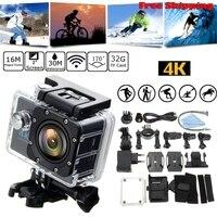 11.11 tylko Wodoodporna 4 K Wifi HD 1080 P Ultra Sport Action Camera DVR Cam Kamera Obsługuje Wielokrotnego Nagrywania Wideo