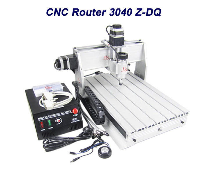 CNC router lathe machine 3040Z-DQ 3 axis wood milling machine for PCB/Wooden engraver with ball screw russia no tax 1500w 5 axis cnc wood carving machine precision ball screw cnc router 3040 milling machine