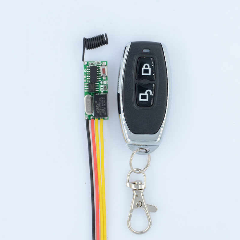 DC 5V 12V RF Wireless Radio Remote Control Switch Remote Control Lighting Mini Receiver Lock Unlock Button 315Mhz 433.92Mhz dc3 5v rf wireless radio remote control switch universal remote control lighting long distance 315 433 momentary toggle latched
