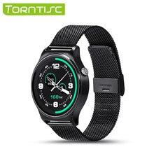 Neue GW01 Smart Uhr Android IPS MTK2502 Bluetooth 4,0 Leben Wasserbeständigkeit Pulsmesser Schrittzähler Metall Band Smartwatch
