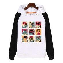 FOR Totoro Princess Mononoke Spirited Away Hoodies men women Sweatshirts Streetwear Hoody Tracksuit GA728