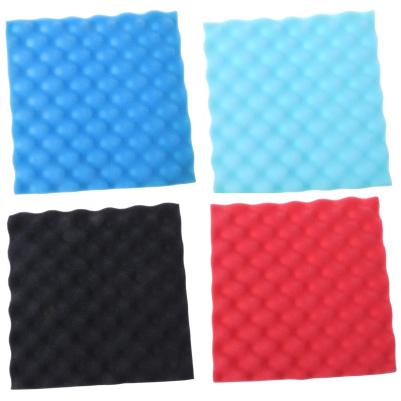 30*30*2 Sound Absorbing Cotton Acoustic Panels Piano Room Ktv Soundproofing Foam Dropshipping
