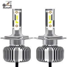 Fuxuan car H4 H7 LED H1 H3 H11 9005 HB3 9006 HB4  H7 H4  LED Super Bright Headlights bulb 12V 30W 6000K Auto Lamp Styling 18pcs cob h1 h4 h7 h11 hb3 hb4 led coche faros bombillas 18w 6000 k s7 auto faro luz de niebla 9 v led h7 fa
