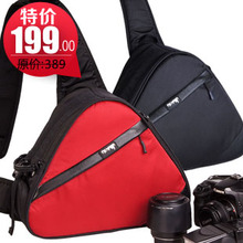 Professional 3101 fashion cross-body bags slr chest pack camera bag triangle bag one shoulder