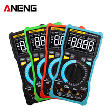 ANENG V8 Digital Multimeter Profesional 8000 Counts True RMS Transistor Tester Analog transistor multimetro multimetr multiteste d2208uk the transistor