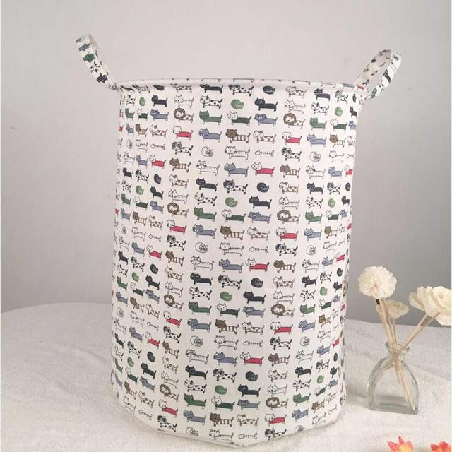 Erfly Waterproof Laundry Hamper Clothes Storage Baskets Home Barrel Bags Kids Toy Organizer