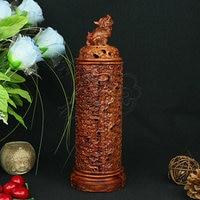 Mahogany quality crafts line pomades at home line incense burner wood lying incense box incense stove sandalwood furnace