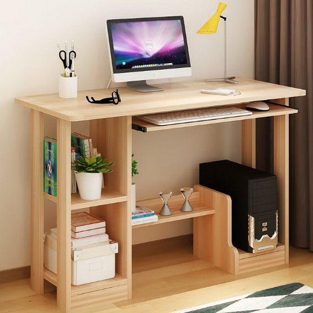 250329 Desktop Computer Desk Home Simple Modern Ious