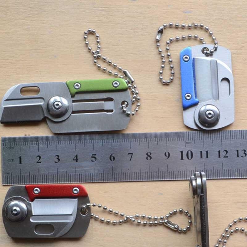 Přenosný nůž s více kartami Camping EDC Mini skládací nože - Ruční nářadí - Fotografie 5