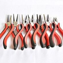 Jewelry Pliers Tool & Equipment Red handle for Crafting Making Beadwork Repair Beading Needlework DIY