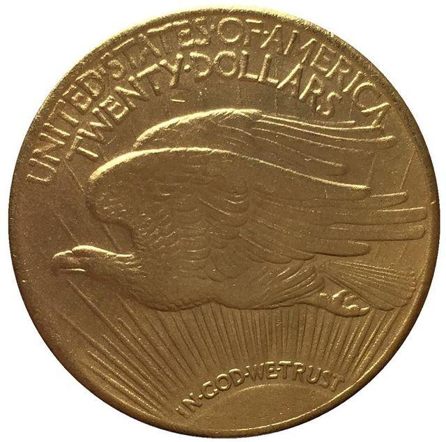 1916-S $20 копия монеты св. Гауденса