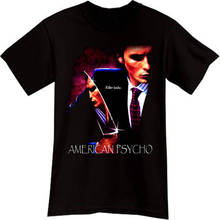 Newest 2018 T Shirt Fashion MenS Short Sleeve Zomer O-Neck Psycho Patrick Bateman  Shirts