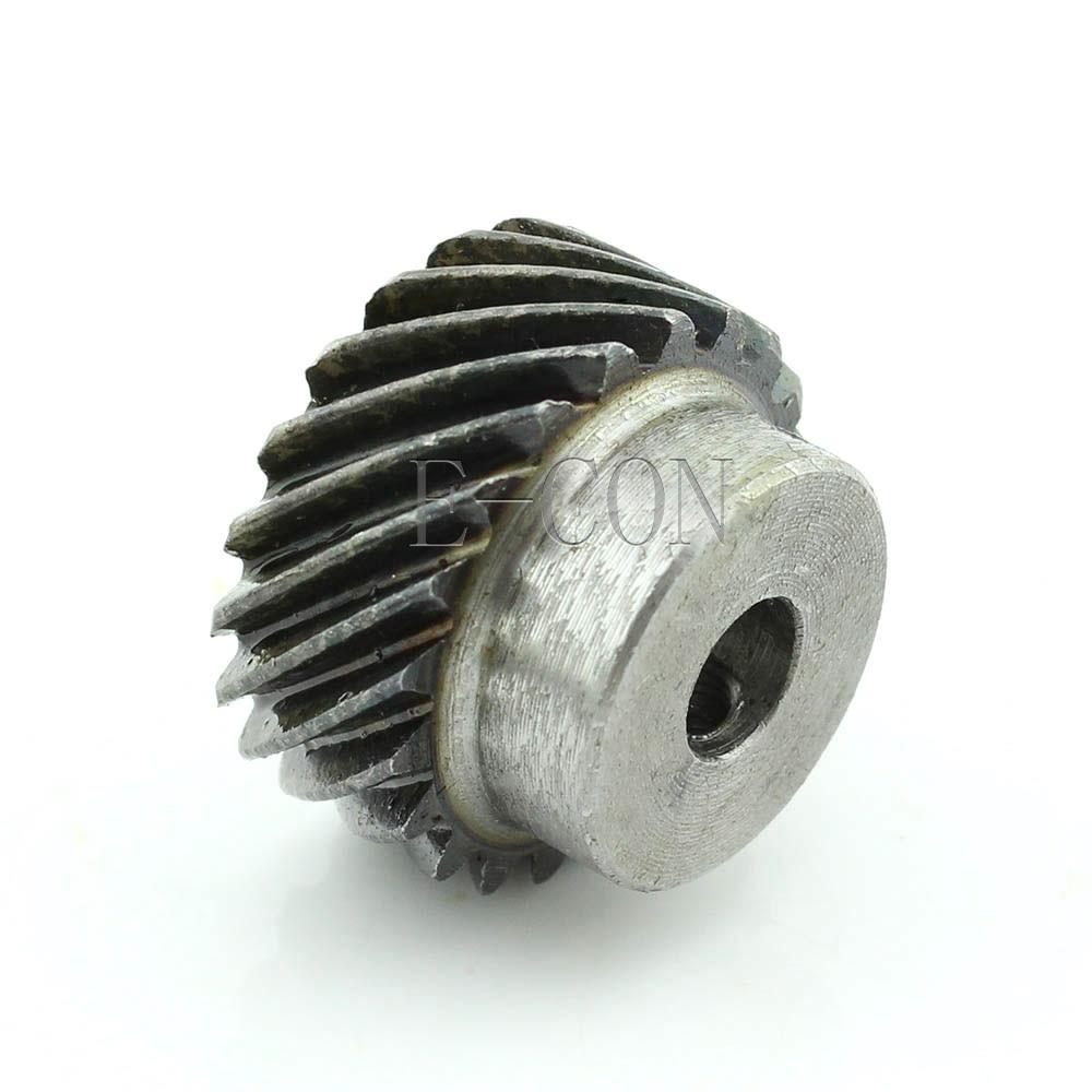 1M-20T Module Metal Spiral Bevel Wheel Motor Gear 90° Gearing 20 Tooth Bore 8mm