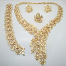 Kingdom Ma Fashion Dubai jewelry set Nigerian gold Color African beads  Jewelry
