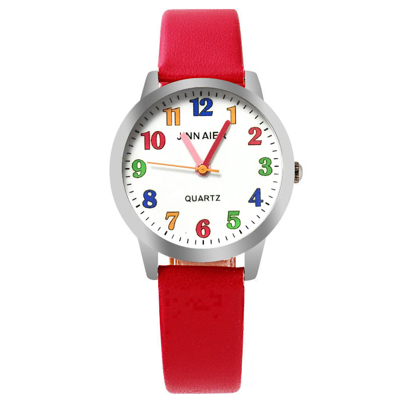 Children's Watch Fashion Color Digital Dial Personality Clock Casual Boy Girl Sports Clock Hot Sale Jelly Leather Watch
