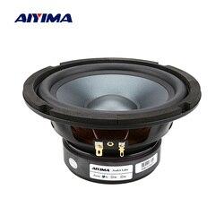 AIYIMA 1Pc 6.5 Inch Mid Woofer Speaker Hifi Fever Bass Loudspeaker 4 8 Ohm 50W Bookshelf Floor Sound Music DIY Speakers Column